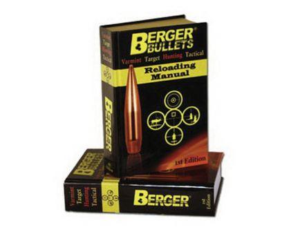 Berger Bullets Hard Cover 1st Edition Reloading Manual, 2012 Publication - 11111
