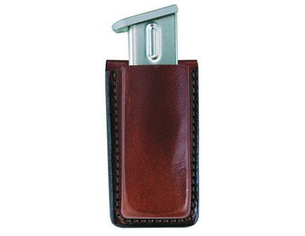 Bianchi 20A Open Top Single Magazine Pouch for Browning BD 40, 9mm to 45 Cal Handgun, Plain Tan - 10734