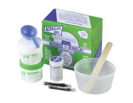 Brownells 4 oz Universal Acraglas Gel Kit - 20100