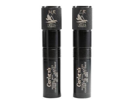 Carlson's Choke Tubes Delta 12 Gauge Mid/Long Range Retay Waterfowl 2-Pack Choke Tube, Black - 07770