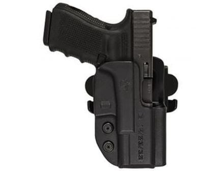 Comp-Tac Victory Gear International Right Hand Walther Q5 Steel Frame OWB Holster, Black - 10241-C241WA252RBKN
