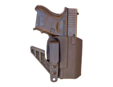 Comp-Tac Victory Gear eV2 Right Hand Glock 26-28 33 Gen 1-5 Appendix IWB Holster, Black - 10756-C756GL056RBKN