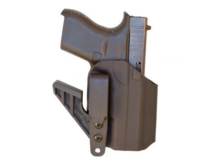 Comp-Tac Victory Gear eV2 Right Hand Glock 42 Appendix IWB Holster, Black - 10756-C756GL066RBKN
