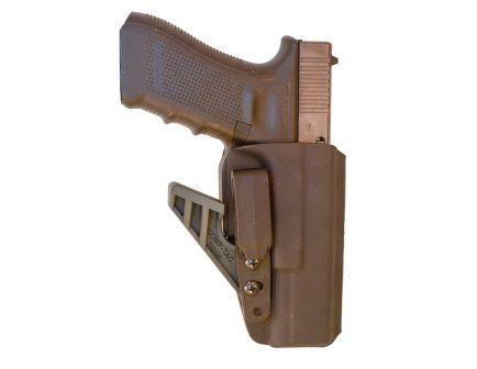 Comp-Tac Victory Gear eV2 Right Hand Glock 17/22/31 Appendix IWB Holster, Black - 10756-C756GL224RBKN
