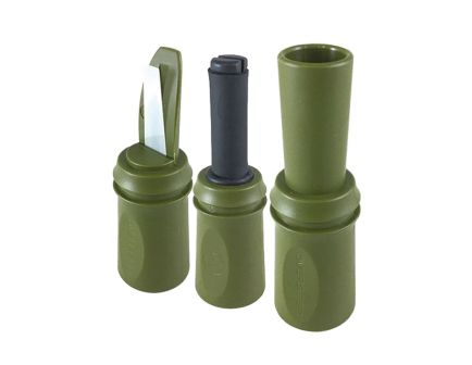 Convergent Overseer Single Reed Predator Pro Pack Call, Green - OBSRPRO