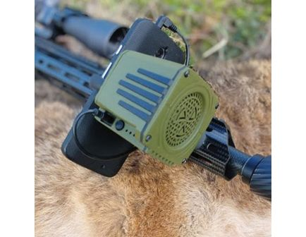 Convergent Sidewinder Electronic Rechargeable Amplifier Weapon Mounted Game Call, Green - SDW4100