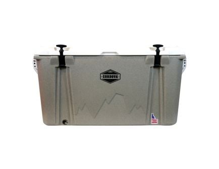 Cordova Coolers Journey Large Cooler w/ NRA Logo, 88 qt, Sandstone Granite - CCLSG86QTNRA