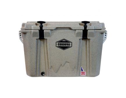 Cordova Coolers Adventurer Medium Cooler, 48 qt, Sandstone Granite - CCMSG50