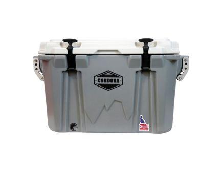 Cordova Coolers Companion Small Cooler w/ NRA Logo, 28 qt, Gray - CCSG28QTNRA