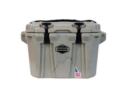 Cordova Coolers Side-Kick Extra Small Cooler w/ NRA Logo, 20 qt, Sandstone Granite - CCXSSGSG20NRA