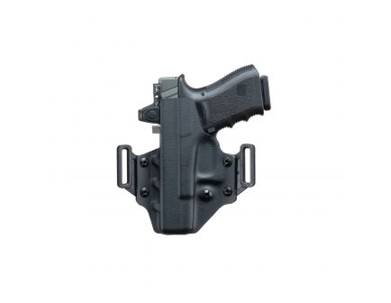 Crucial Concealment Covert Right Hand Glock 19 OWB Holster, Black - 1001