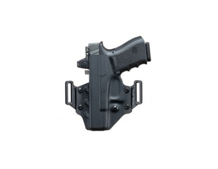 Crucial Concealment Covert RH Ruger Security 9 OWB Holster, Black - 1006