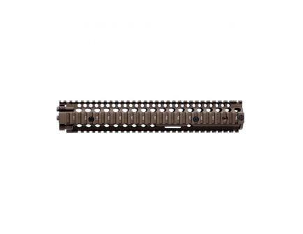 "Daniel Defense M4A1 RIS II 12.25"" 6061 T6 Aluminum Forend Rail Interface System, Flat Dark Earth - 408001"