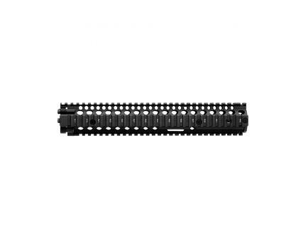 "Daniel Defense M4A1 RIS II 12.25"" 6061 T6 Aluminum Forend Rail Interface System, Black - 408001006"