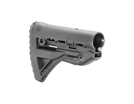 Fab Defense GL-Shock Polymer Shock Absorbing Buttstock for M4/M16 Rifles, Black - FXGLSHOCK