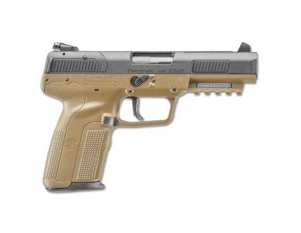 FN America FN Five-seveN 5.7x28mm Pistol, FDE - 3868929352