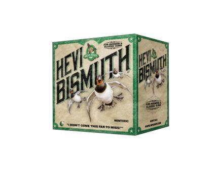 "Hevi-Shot Hevi-Bismuth 3"" 12 Gauge Ammo 4, 25/box - 14004"
