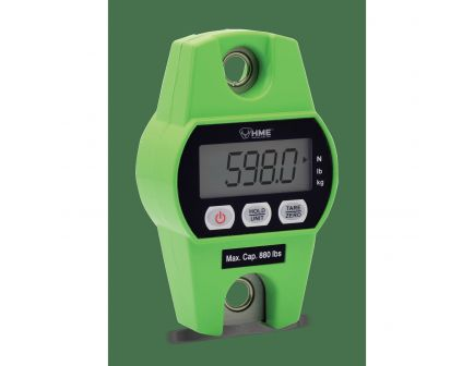 HME 880 lb Digital Hanging Scale, Green - SCALE