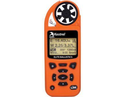 Kestrel Kestrel 5700 Elite 100' Waterproof Shock Resistant Weather Meter w/ Applied Ballistic and Link, Blaze Orange - 0857ALBLZ