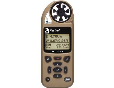 Kestrel Kestrel 5700 100' Waterproof Shock Resistant Weather Meter w/ Ballistic and Link, Tan - 0857BLTAN