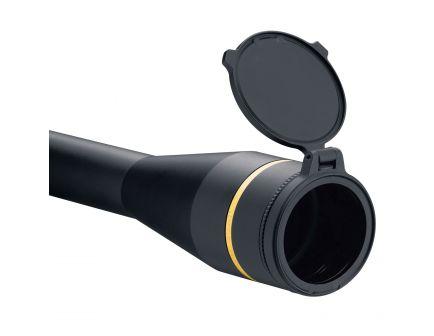 Leupold Alumina 6061 T6 Aluminum Flip-Back Lens Cover, 44mm Dia, Black - 117608