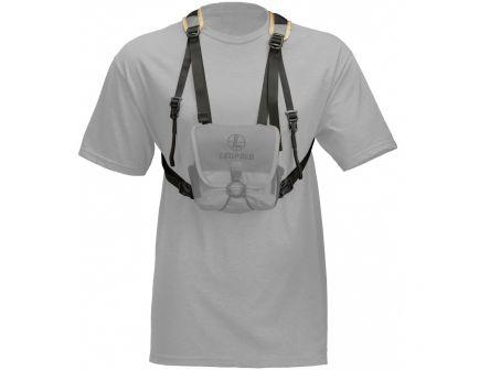 Leupold GO Afield XF Binocular Harness, 600 Denier Nylon Gray/Tan - 172543