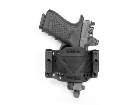 Limbsaver CrossTech Compact Ambidextrous IWB/OWB Clip-On Gun Holster, Black - 12507