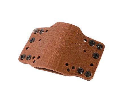 Limbsaver CrossTech Universal Handgun Holster, Leather, Ambidextrous IWB/OWB, Brown - 12526