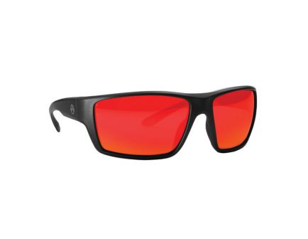 Magpul Industries Terrain Wraparound Eyewear, Gray/Red Mirror Lens - MAG1020-067