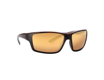 Magpul Industries Summit Wraparound Eyewear, Polarized Bronze/Gold Mirror Lens, Tortoise Frame - MAG1023-840
