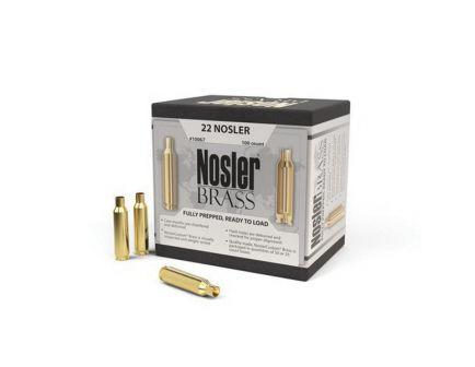 Nosler .22 Nosler Brass Full Length Cartridge Case, 100/box - 10067