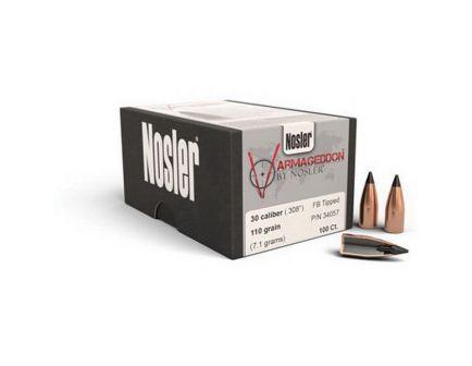 Nosler Varmageddon .22 62 gr FBHP Rifle Bullet w/ Cannelure, 250/box - 36522