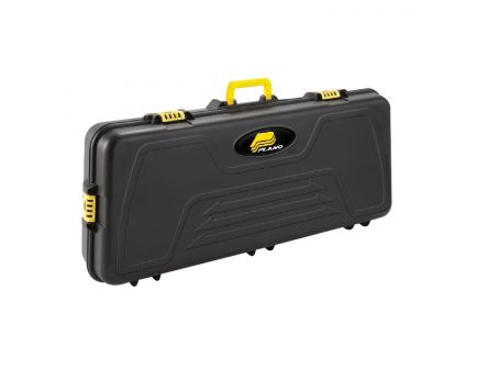 Plano Molding Parallel Limb Bow Case, Black with Yellow Latches/Handle - 114400