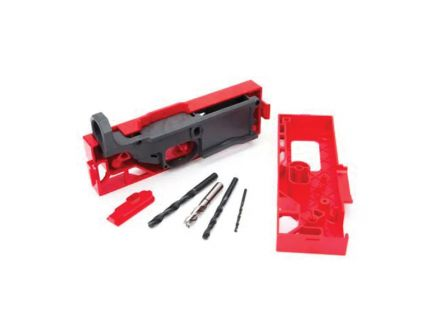 Polymer 80 .308 Win/7.62 Lower Receiver and Jig Kit, Gray - 308KITGRY