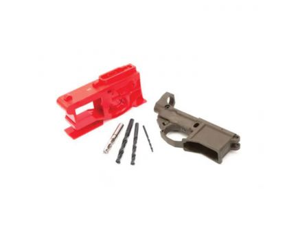 Polymer 80 Multi-Caliber Lower Receiver and Jig Kit, Green - NKITZMB