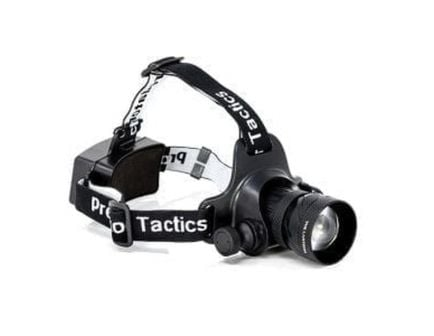Predator Tactics The Lantern Multi-Purpose Headlamp Kit, Black - 97452