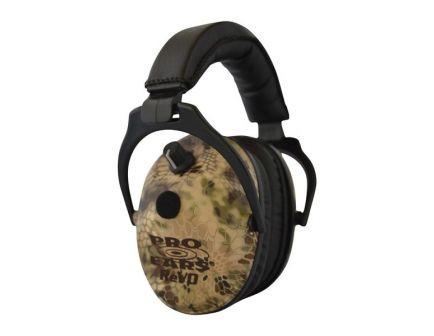 Pro Ears ReVO 25 dB Over the Head Hearing Protection Electronic Earmuff, Kryptek Highlander - ER300HI