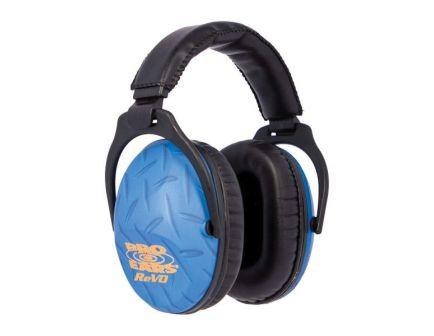 Pro Ears ReVO 25 dB Youth Hearing Protection Passive Earmuff, Blue Diamond Plate - PE26UY010