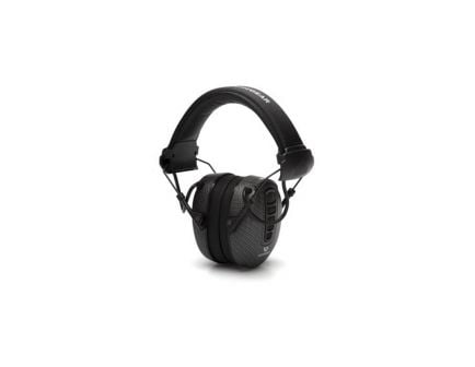 Pyramex Clandestine 24 dB Over the Head Electronic Earmuff, Black Graphite - VGPME17