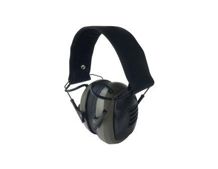 Radians Tactical 23 dB Over the Head Electronic Earmuff, Black/Tan - CSE10BX