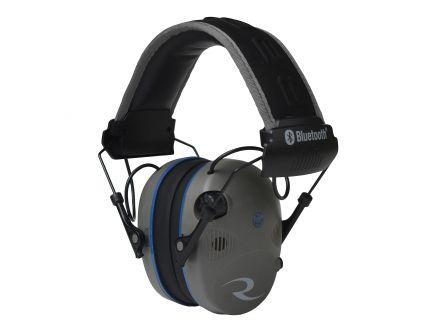 Radians R Series 24 dB Over the Head Bluetooth Electronic Earmuff, Black/Gray - R3700