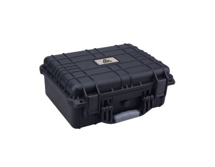 """Reliant Mule Protective Case, Large, Handgun, 16"""" x 13"""" x 6.87"""", Black - 10195"""