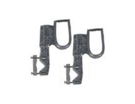 Ranger Rugged Gear Black Nylon Single Hook ATV Mount Gun Rack, Universal - 10100