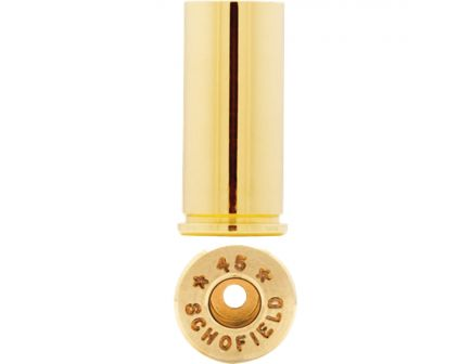 Starline Brass .45 Schofield Unprimed Brass Large Cartridge Case, 100/bag - STAR45SEUP10