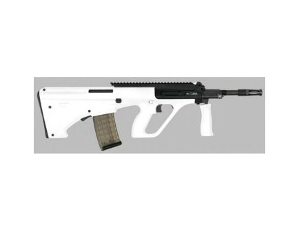 Steyr Arm AUG A3 M1 .223 Rem/5.56 Semi-Automatic AR-15 Rifle w/ Extended Rail, White - AUGM1WHIEXT