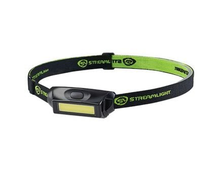 Streamlight Bandit Pro 180/35 lm Chip on Board (COB) LED Ultra-Compact Low-Profile Weather-Resistant Headlamp, Black - 61714