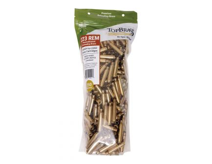 Top Brass Premium Reconditioned .222 Rem/5.56 Unprimed Brass Full Length Cartridge Case, 250/pack - 8B223REMMY-250