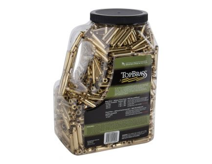 Top Brass Premium Reconditioned .222 Rem/5.56 Unprimed Brass Full Length Cartridge Case, 1000/pack - 8B223REMMY-M-J