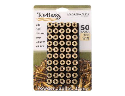 Top Brass Premium Reconditioned .308 Win Unprimed Brass Cartridge Case, 1000/pack - 8B308WINMY-5C-J