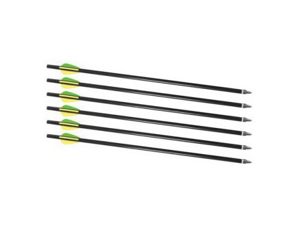"""Traditions Crackshot XBR 16"""" L Aluminum Arrow Set, 6/pack - A2217"""